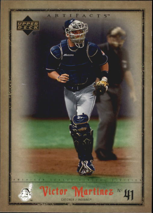 2006 Artifacts #26 Victor Martinez