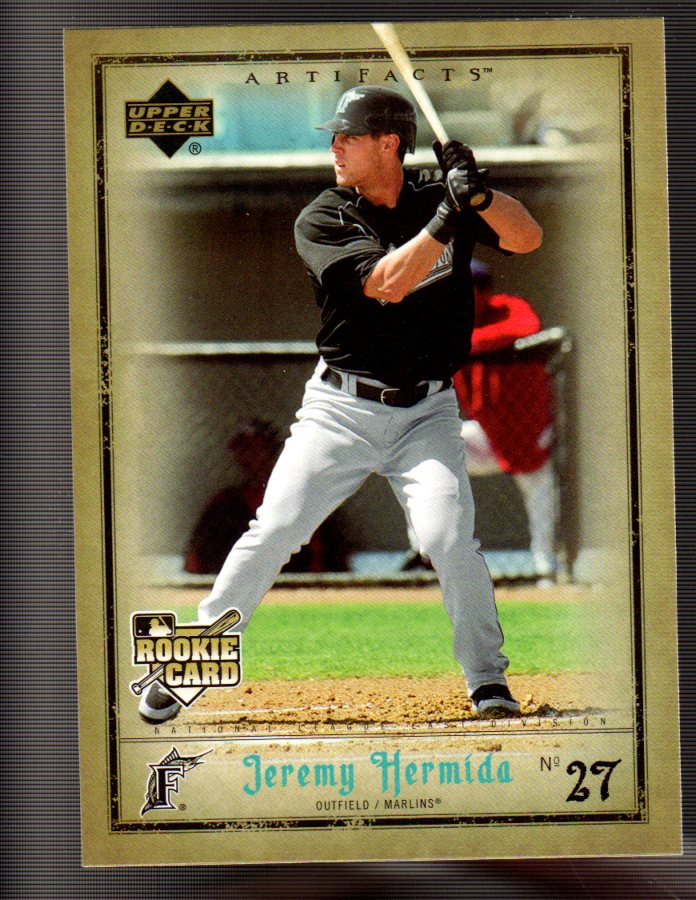 2006 Artifacts #30 Jeremy Hermida (RC)