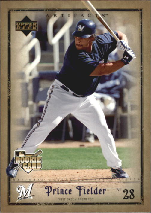 2006 Artifacts #41 Prince Fielder (RC)