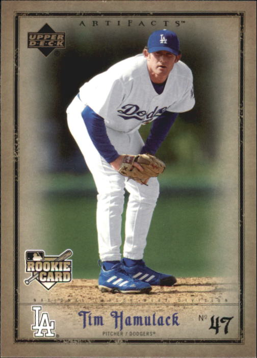 2006 Artifacts #45 Tim Hamulack (RC)