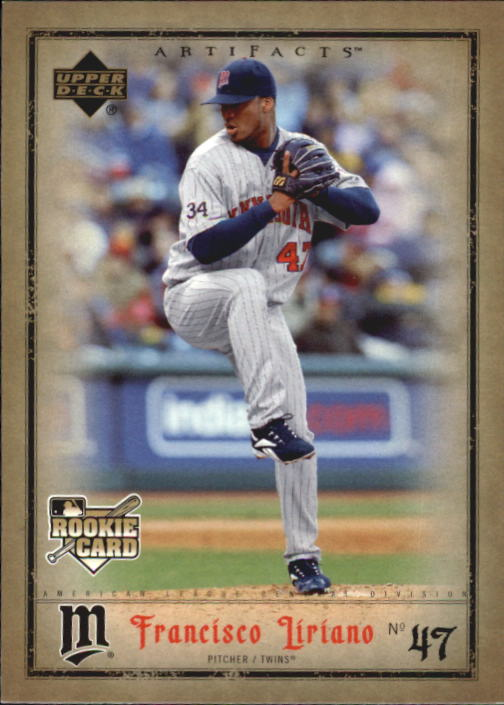 2006 Artifacts #49 Francisco Liriano (RC)