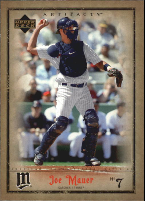 2006 Artifacts #50 Joe Mauer