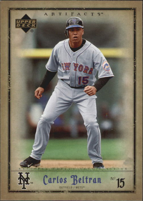 2006 Artifacts #54 Carlos Beltran
