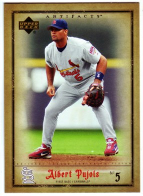 2006 Artifacts #82 Albert Pujols