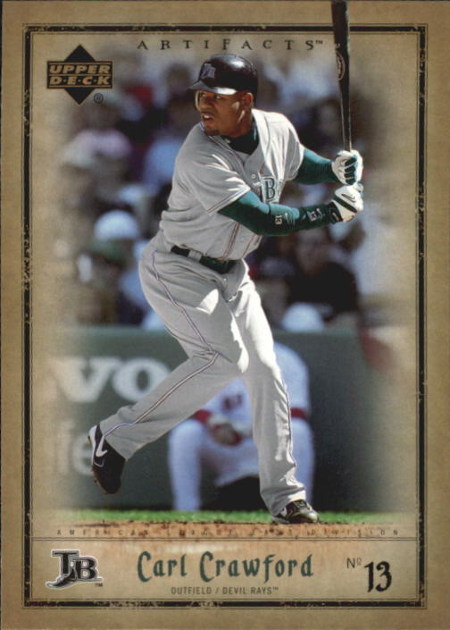 2006 Artifacts #87 Carl Crawford