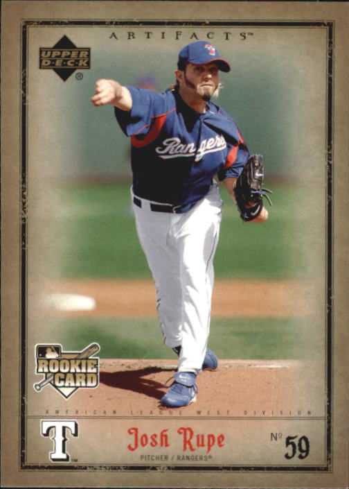 2006 Artifacts #90 Josh Rupe (RC)