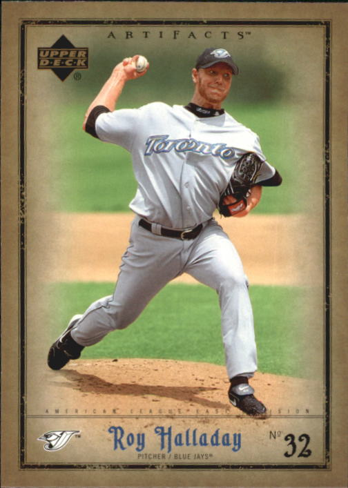 2006 Artifacts #96 Roy Halladay