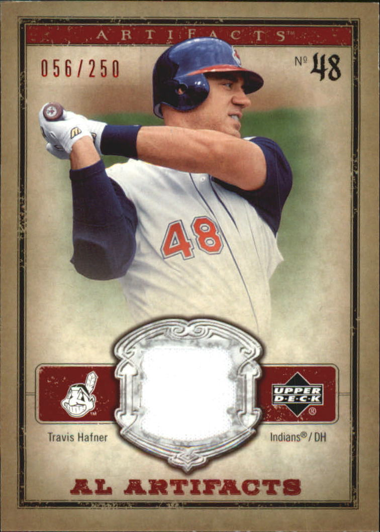 2006 Artifacts AL/NL Artifacts Red #THA Travis Hafner Jsy/250
