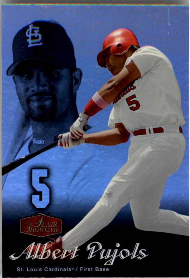 2006 Flair Showcase #2 Albert Pujols UD
