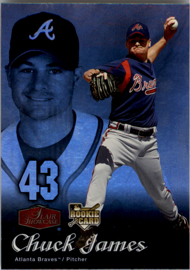 2006 Flair Showcase #5 Chuck James UD (RC)