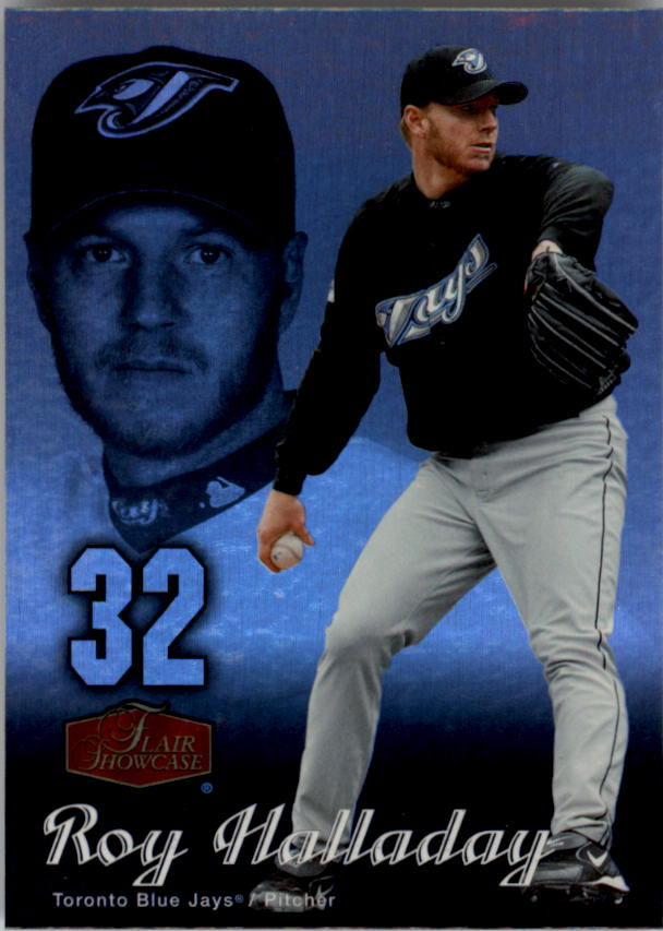 2006 Flair Showcase #8 Roy Halladay UD