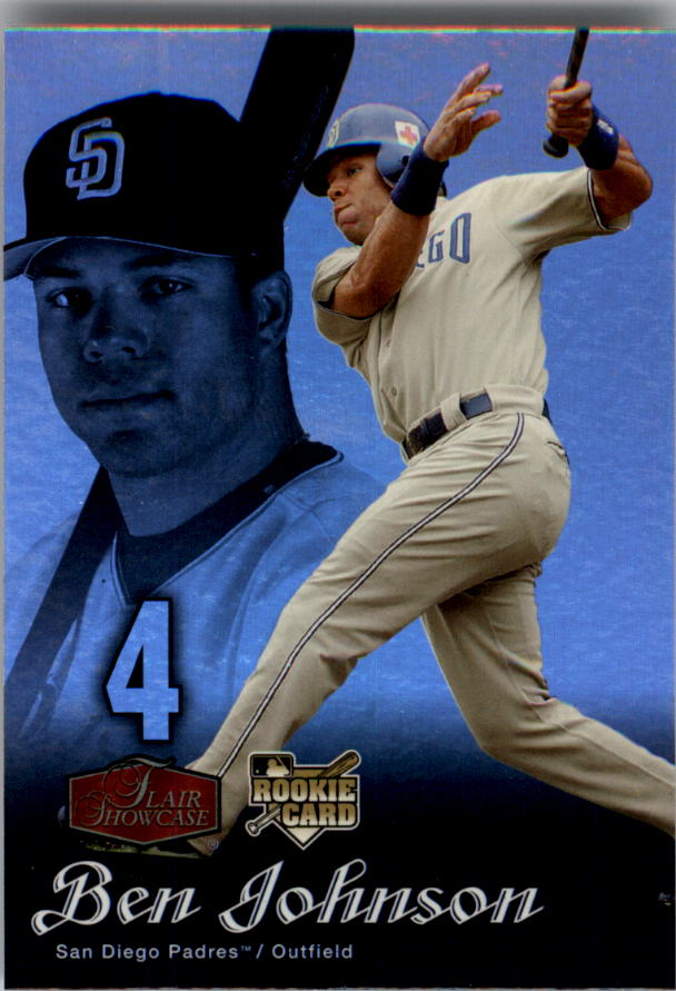 2006 Flair Showcase #22 Ben Johnson UD (RC)