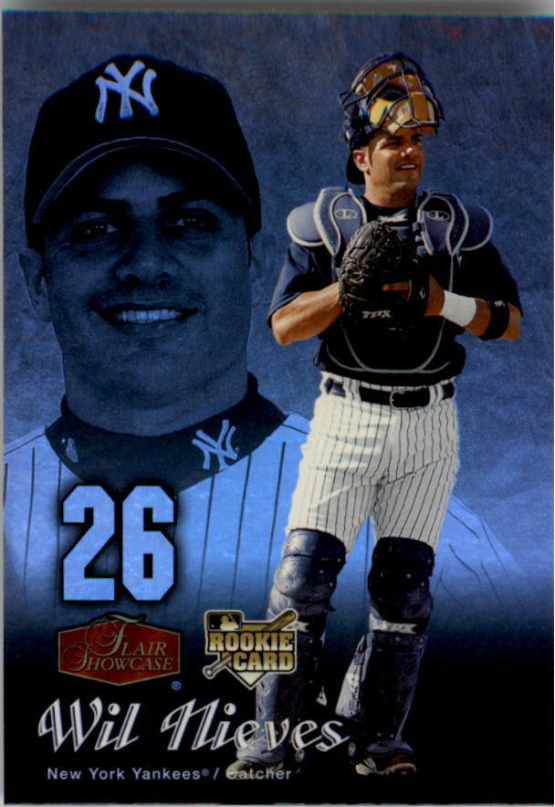 2006 Flair Showcase #24 Wil Nieves UD (RC)