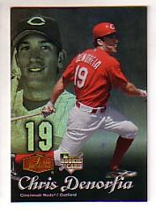 2006 Flair Showcase #47 Chris Denorfia UD (RC)
