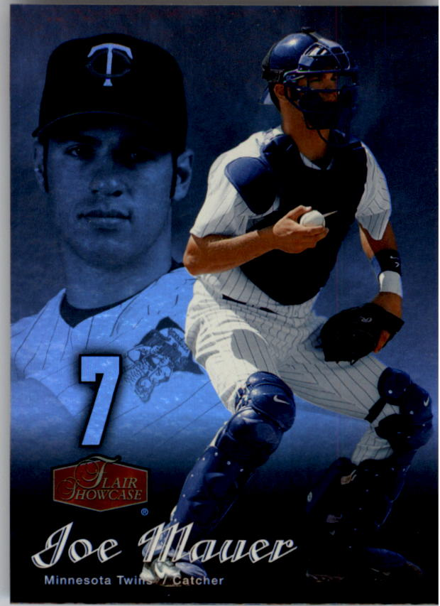 2006 Flair Showcase #55 Joe Mauer UD