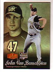 2006 Flair Showcase #62 John Van Benschoten UD (RC)