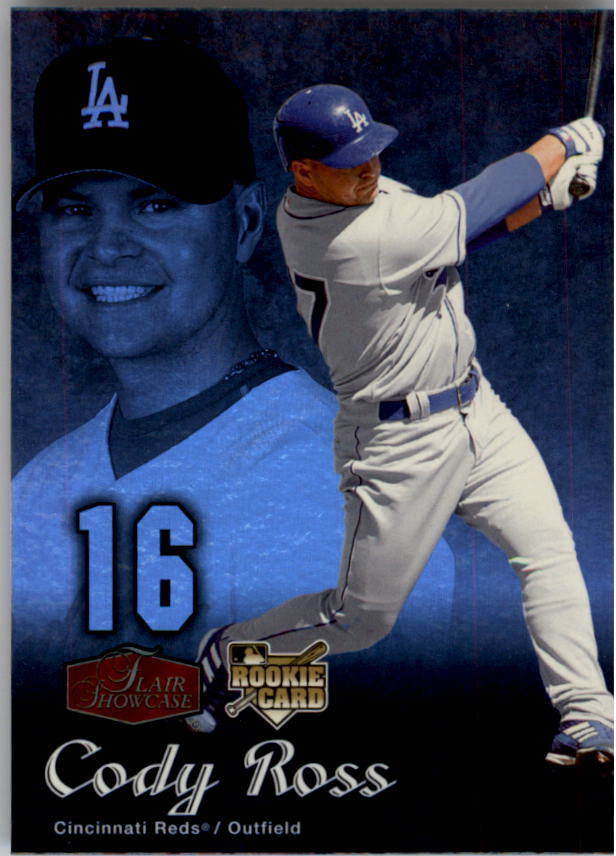 2006 Flair Showcase #93 Cody Ross UD (RC)