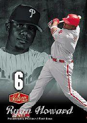 2006 Flair Showcase #109 Ryan Howard FB