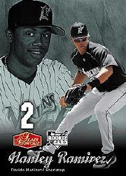 2006 Flair Showcase #155 Hanley Ramirez SL (RC)