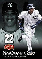 2006 Flair Showcase #174 Robinson Cano SL