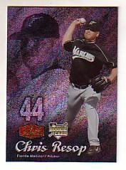 2006 Flair Showcase #191 Chris Resop SL (RC)