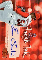 2006 Flair Showcase Fresh Ink #ES Ervin Santana