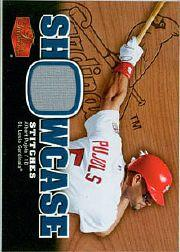 2006 Flair Showcase Stitches #AP Albert Pujols Pants