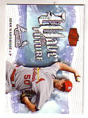 2006 Flair Showcase Wave of the Future #3 Adam Wainwright