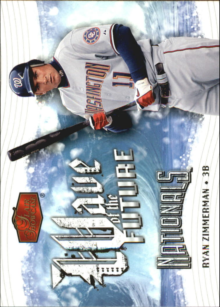 2006 Flair Showcase Wave of the Future #4 Ryan Zimmerman