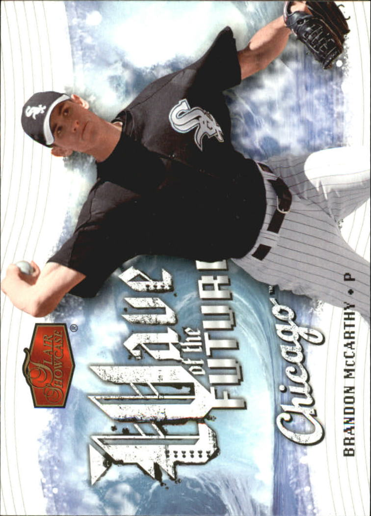 2006 Flair Showcase Wave of the Future #6 Brandon McCarthy