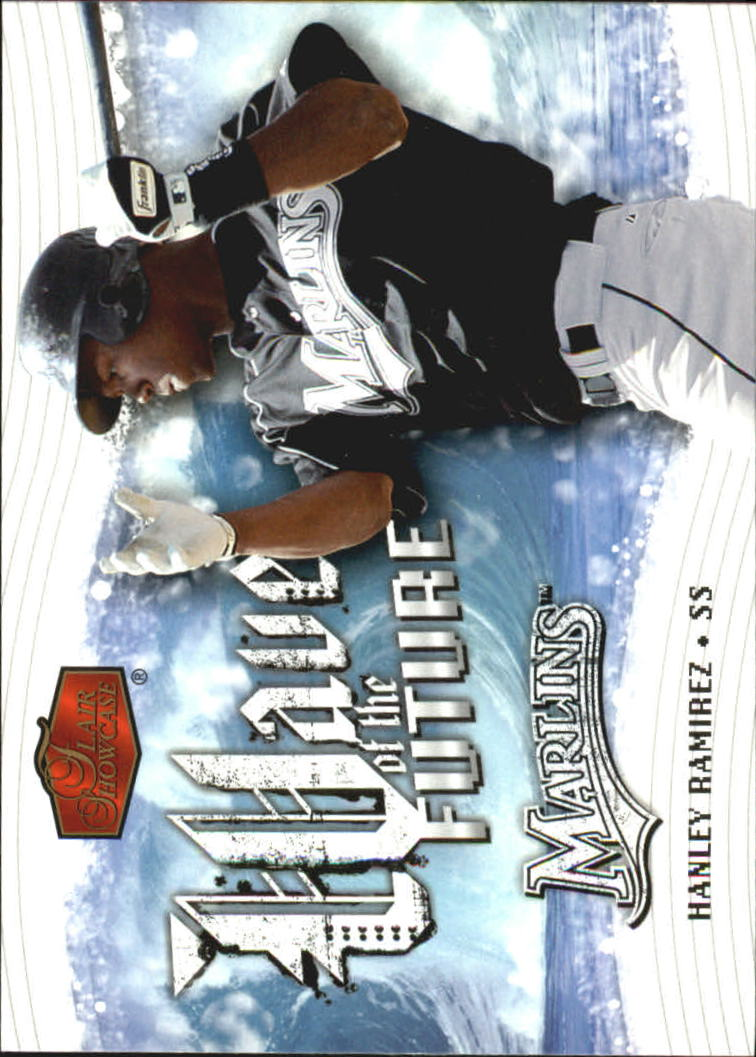 2006 Flair Showcase Wave of the Future #13 Hanley Ramirez