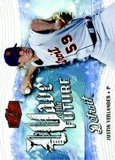2006 Flair Showcase Wave of the Future #20 Justin Verlander