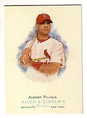 2006 Topps Allen and Ginter #1 Albert Pujols