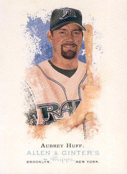 2006 Topps Allen and Ginter #2 Aubrey Huff