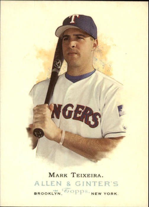 2006 Topps Allen and Ginter #3 Mark Teixeira