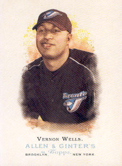2006 Topps Allen and Ginter #4 Vernon Wells