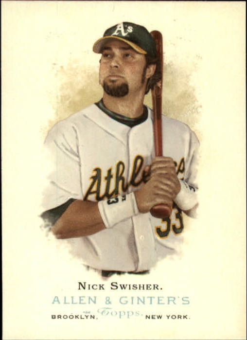 2006 Topps Allen and Ginter #6 Nick Swisher