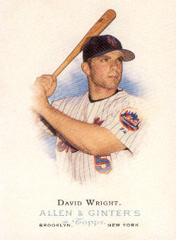 2006 Topps Allen and Ginter #8 David Wright