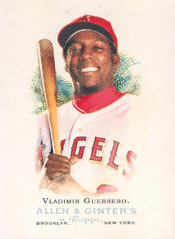 2006 Topps Allen and Ginter #9 Vladimir Guerrero