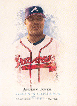 2006 Topps Allen and Ginter #10 Andruw Jones