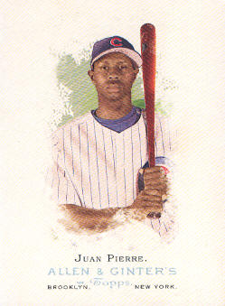 2006 Topps Allen and Ginter #13 Juan Pierre
