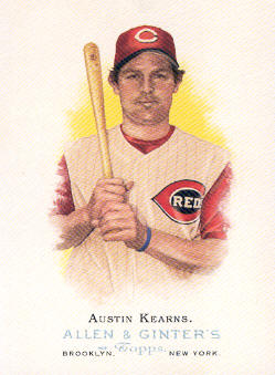 2006 Topps Allen and Ginter #15 Austin Kearns SP
