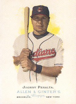 2006 Topps Allen and Ginter #16 Jhonny Peralta