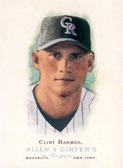 2006 Topps Allen and Ginter #17 Clint Barmes