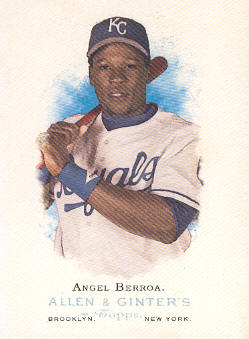2006 Topps Allen and Ginter #18 Angel Berroa