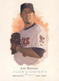 2006 Topps Allen and Ginter #20 Joe Nathan