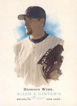 2006 Topps Allen and Ginter #21 Brandon Webb