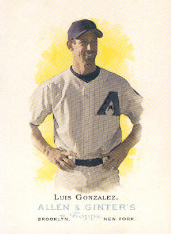 2006 Topps Allen and Ginter #27 Luis Gonzalez
