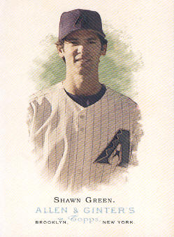 2006 Topps Allen and Ginter #30 Shawn Green