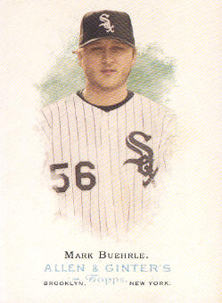 2006 Topps Allen and Ginter #31 Mark Buehrle